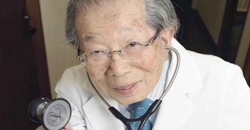 Doctor japonés de 105 años de edad recomienda estos 14 consejos saludables