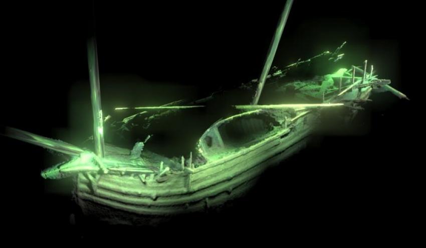 Encuentran en el mar Báltico un barco de 500 años